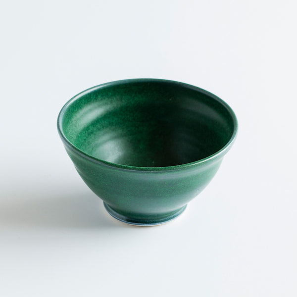 Ceramic Round Bowl Green by Ana Jensen Ceramics - Available At Berry Jam Sweet Living