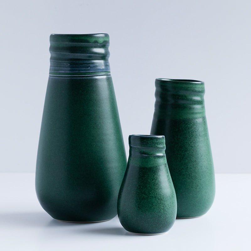 Ceramic Vase Green by Ana Jensen Ceramics - Available At Berry Jam Sweet Living
