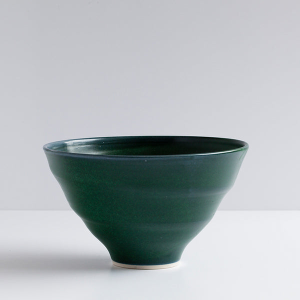 Ceramic Salad Bowl Green by Ana Jensen Ceramics - Available At Berry Jam Sweet Living