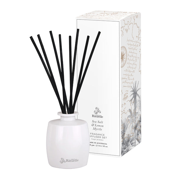 Diffuser Set 200ml Sea Salt & Lemon Myrtle