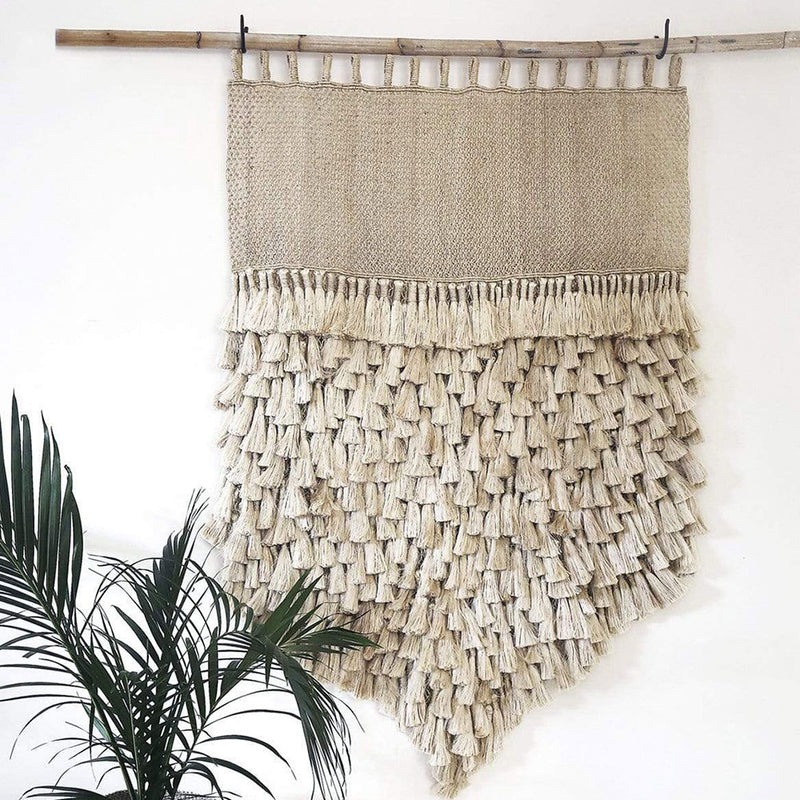 Jumbo Jute Wall Hanging by Dharma Door - Available At Berry Jam Sweet Living