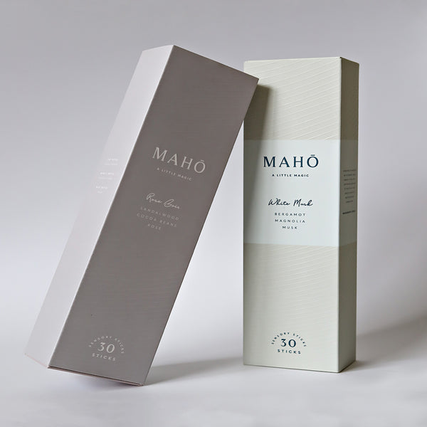 Maho Sensory Sticks - White Musk