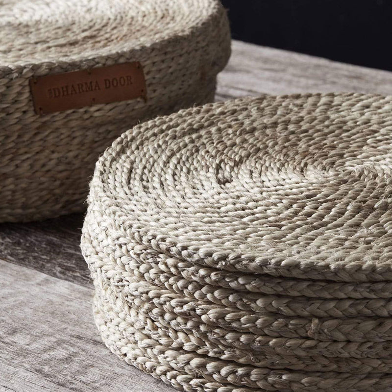 Round Jute Placemat Set 8 by Dharma Door - Available At Berry Jam Sweet Living
