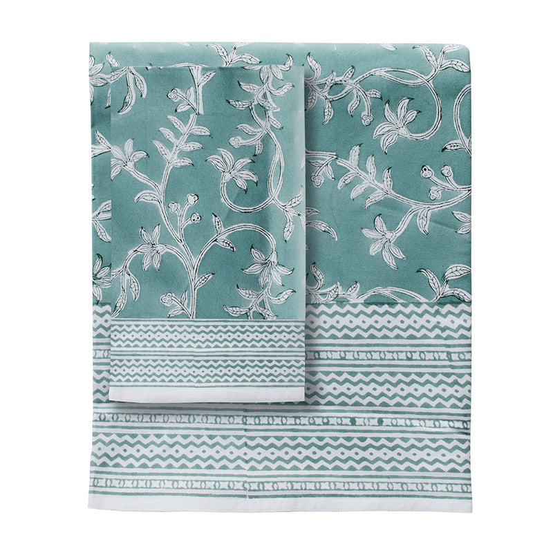 Evergreen Tablecloth by L&M Home - Available At Berry Jam Sweet Living