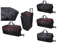 30'' Large 139L Wheeled Rolling Trolley Holdall Bag on Wheels