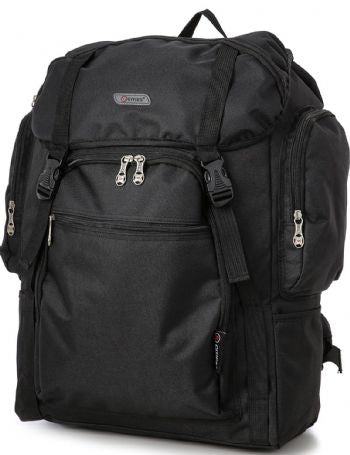 5Cities Cabin On-Board Backpack Black - 55x40x20 Ryanair EasyJet