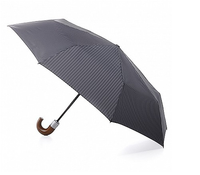 Fulton Chelsea Mens Crook Handle Auto Umbrella