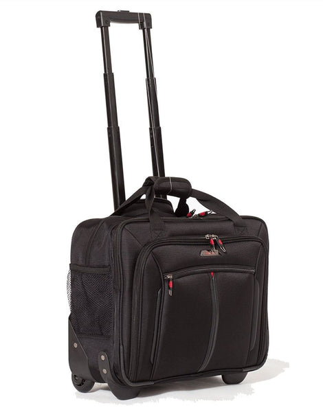 "Aerolite 17"" Executive Cabin Wheeled Laptop Trolley Business Case"