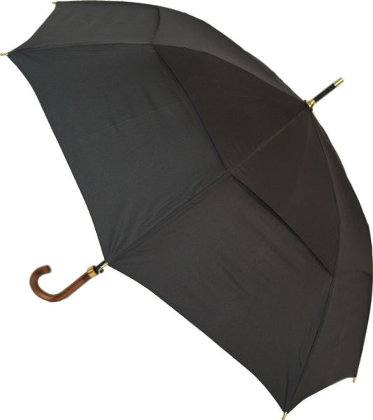 Clifton Storm King Classic 120 Long Umbrella Black