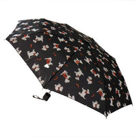 DUA Ladies Folding Umbrella Scottish Scotties
