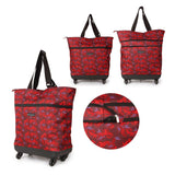 Expandable Cabin Large Wheeled Holdall Shopping Trolley Hand Luggage Bag Ryanair