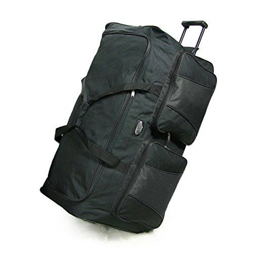 Extra Large 85cm Heavy Duty Rolling Holdall Wheeled Duffle Bag