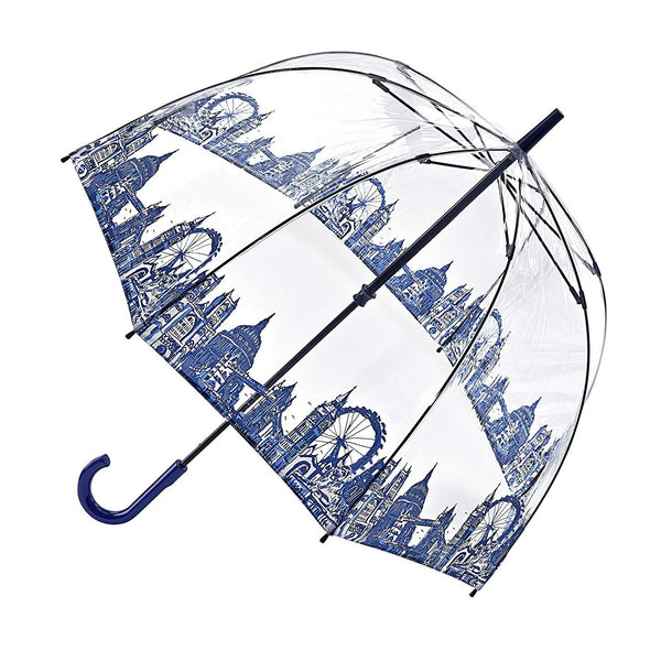 Fulton Birdcage Ladies Walking Length Dome Umbrella London Icons