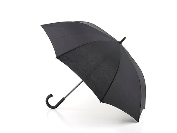 Fulton Knightsbridge Gents Auto Plain Black Umbrella