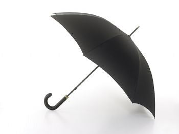 Fulton Minister Mens Walking Length Umbrella Black