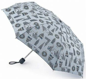 Fulton Stowaway London Landmarks Compact Folding Umbrella