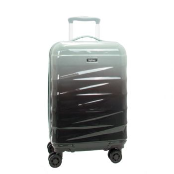 Highbury Ombre Hard Shell 4 Dual Wheel Spinner Trolley Cases 5 Year Warranty