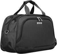 Lightweight Travel Holdall Cabin Flight Overnight Shoulder Grab Bag Grey