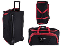 Lighweight Spacious Duffle Bag On Wheels with Retractable Handle Various Sizes