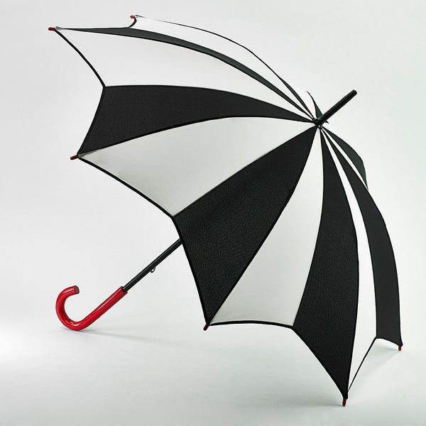 Lulu Guinness by Fulton Ladies Kensington-2 Walking Umbrella Harlequin