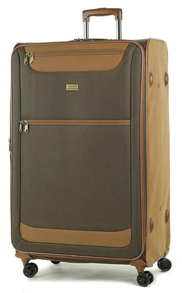 Members Boston Lightweight Imitation Suede Spinner Luggage Cases
