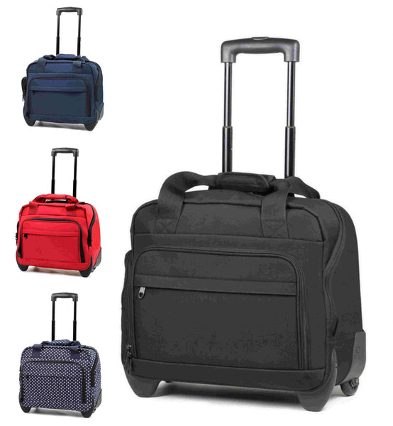 Members Essential On-Board Laptop Case on Wheels