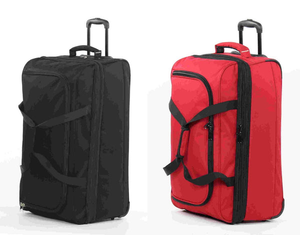 Members Expandable Travel Wheelbag / Rolling Duffle