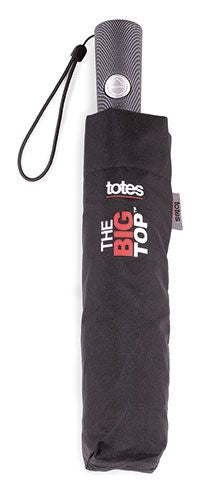 Totes Big Top Auto Open/Close Double canopy umbrella Golf Size Canopy