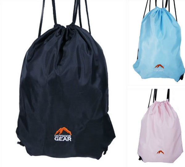 Outdoor Gear Drawstring Bag- Ideal for Gym, School, Swim