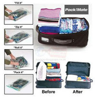 PackMate 6 piece Bumper Space Saving Clothes Vacuum Storage Bags