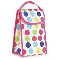 Personal Lunch Cool Bag Insulated PVC Lining Tough Velcro Closure Various Designs