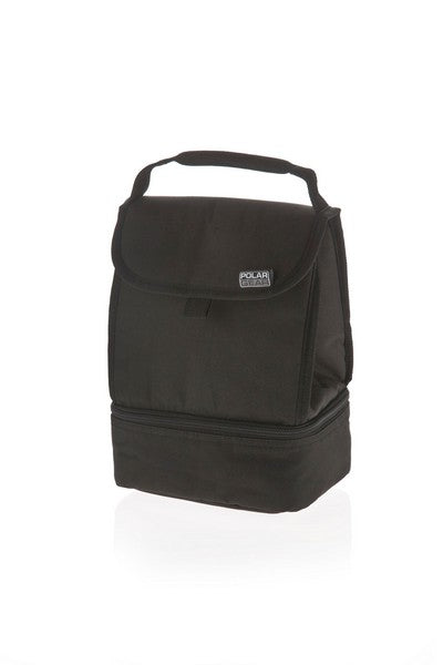 Polar Gear Everyday 2 Compartment Insulated Cool Bag Lunch Bag in Three Colours