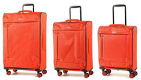 Rock Astro Super Lightweight Four Wheel Spinner Suitcase Various Colours & Sizes