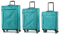 Rock Astro II Super Lightweight Four Dual Wheel Spinner Luggage in Various Colours
