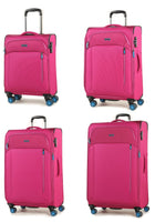 Rock Aura II Lightweight Expandable Four Wheel Spinner Suitcase