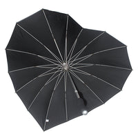 Soake Boutique Heart Shaped Long Umbrella