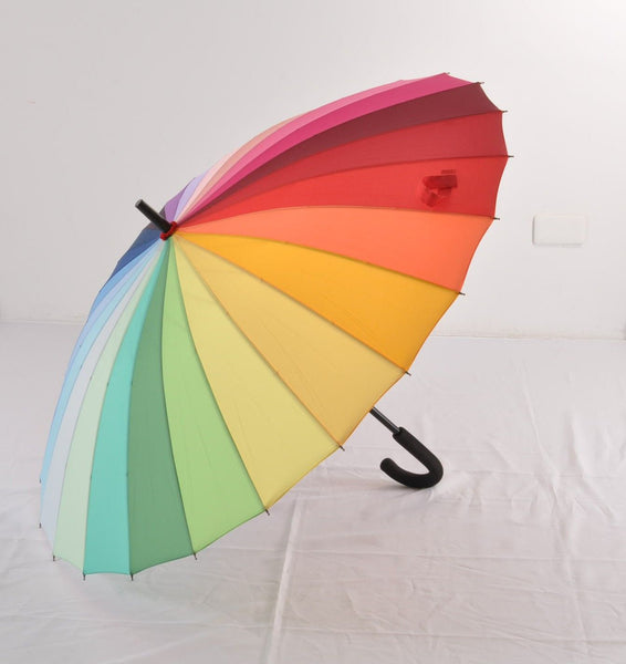 Soake Everyday Collection - Rainbow Long Stick Umbrella