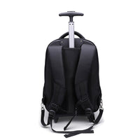 Tassia 15.6 inch Wheeled Laptop Backpack Padded Adjustable Back Straps and Carry Handle