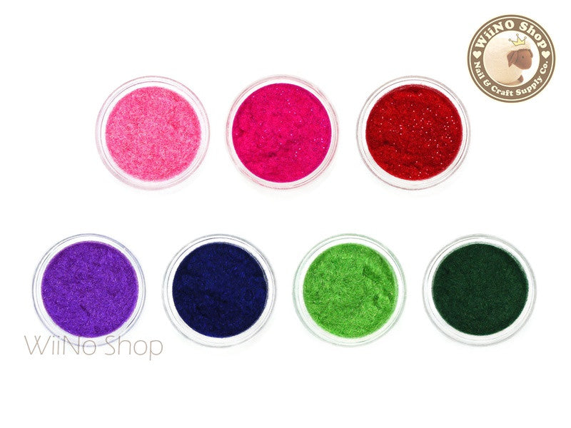 Velvet Flocking Powder Nail Art Decoration - 1 pc (22-28)