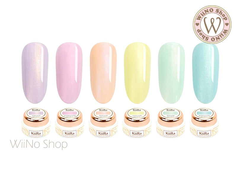 KiiRa Color Gel - Candy Wonderland 6 Color Set