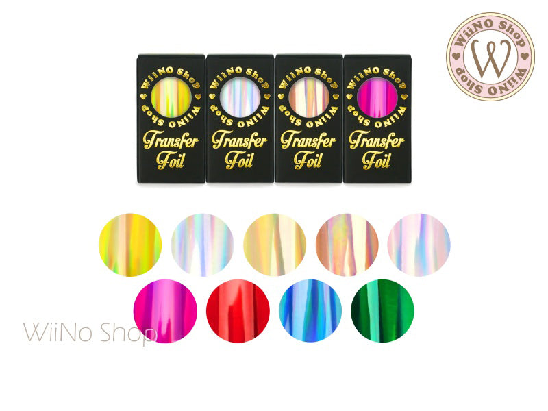 Holographic Transfer Foil Nail Art Decoration