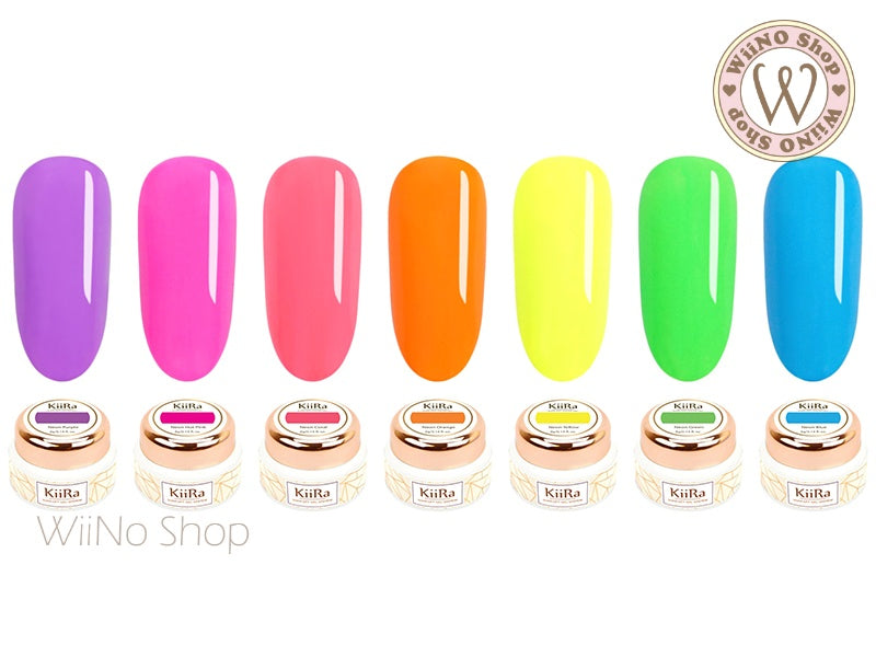 KiiRa Color Gel - Electric Neon 7 Color Set