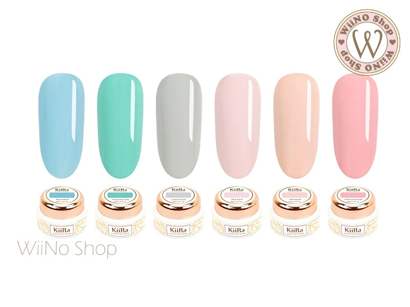 KiiRa Color Gel - Pink Summer Vacation 6 Color Set