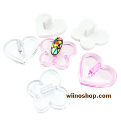 Butterfly Heart Nail Tips Display Practice Stand - 1 pc