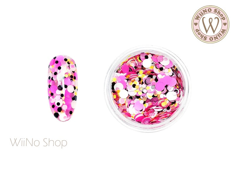 Round Dots Mixed Glitter (RM01)