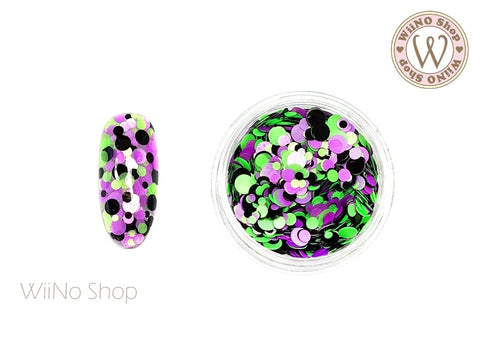 Round Dots Mixed Glitter (RM02)