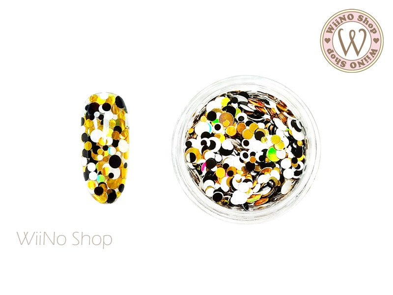 Round Dots Mixed Glitter (RM04)