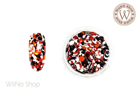 Round Dots Mixed Glitter (RM05)