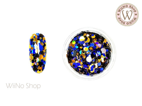Round Dots Mixed Glitter (RM07)