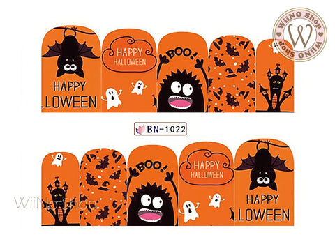Halloween Water Slide Nail Art Decals - 1pc (BN-1022)